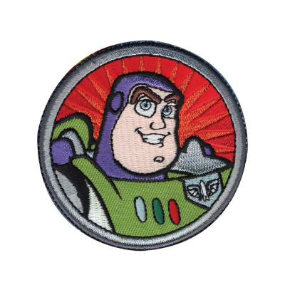 Disney Toy Story Iron On Applique Buzz Lightyear