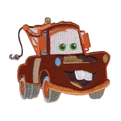 Disney Cars Iron On Applique Mater