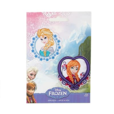 Disney Frozen Iron On Applique   Elsa & Anna