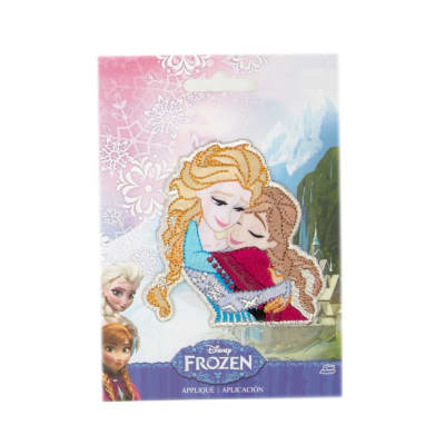 Disney Frozen Iron On Applique Sisters