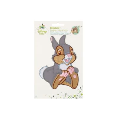 Disney Bambi Iron On Applique Thumper Laughing