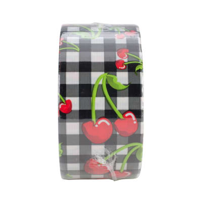 """Patterned Duck Tape 1.88"""" x 10yd-Cherries"""