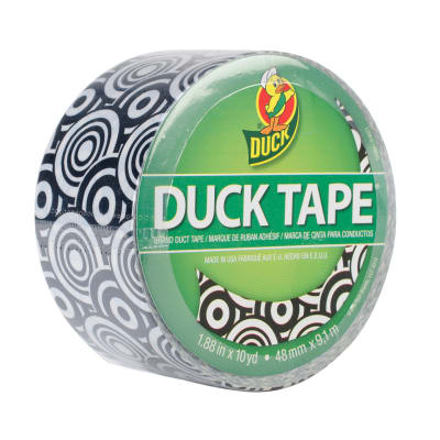 "Patterned Duck Tape 1.88"" x 10yd-Graphic Swirl"