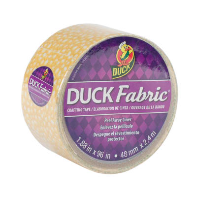 "Fabric Tape 1.88"" x 96""-Yellow Speckled Dot"