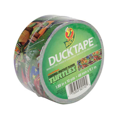 "Licensed Duck Tape 1.88"" x 10yd-Ninja Turtles"