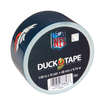 "NFL Duck Tape 1.88"" x 10yd-Denver Broncos"