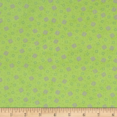 Briarcliff Mini Squares Green