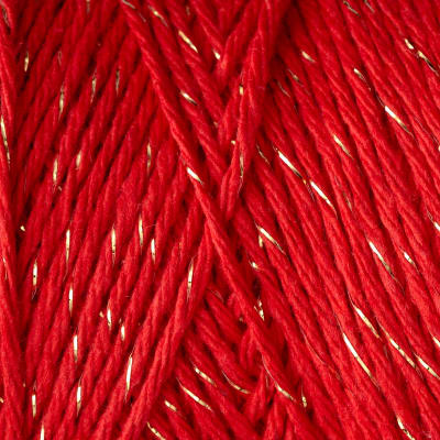 Premier Home Cotton Grande Holiday 02 Red Gold