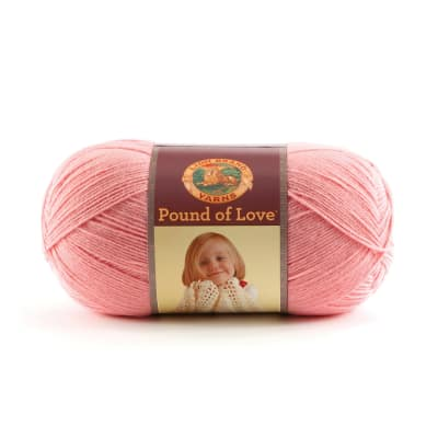 Lion Brand Yarn Pound of Love Pink