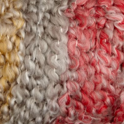 Lion Brand Yarn Homespun Thick & Quick Sandstone Stripes