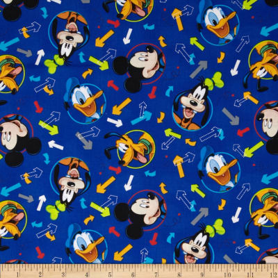 Disney Mickey & Friends Mickey Head  Toss Blue