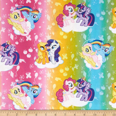 Hasbro My Little Pony Traditional Ombre Toss Multi