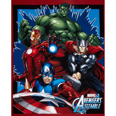 Marvel Avengers Assemble Panel Red
