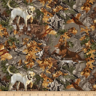 Realtree Dogs in Woods Multi