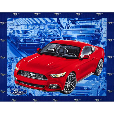 Ford Vintage Mustang Panel