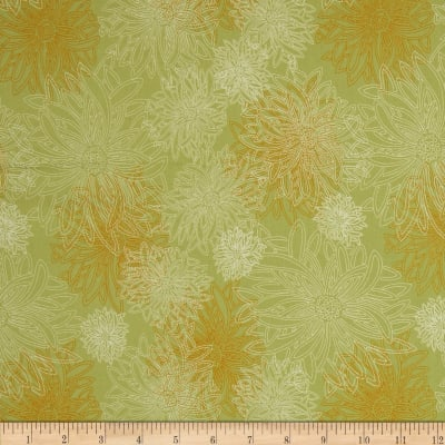 Art Gallery Elements Floral Dusty Olive