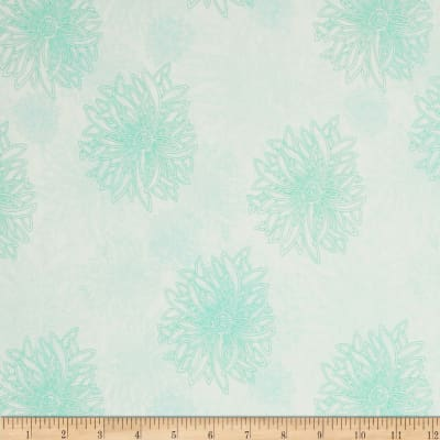 Art Gallery Elements Floral Icy Blue