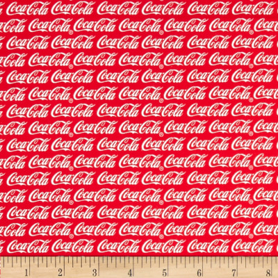 Coca Cola Allover Red