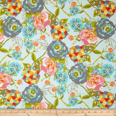 Art Gallery Lilly Belle Garden Rocket Turquoise