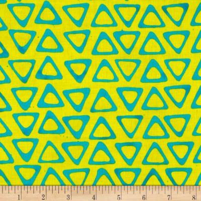 Moda Poems from Pebbles Traveling Triangles Lemon