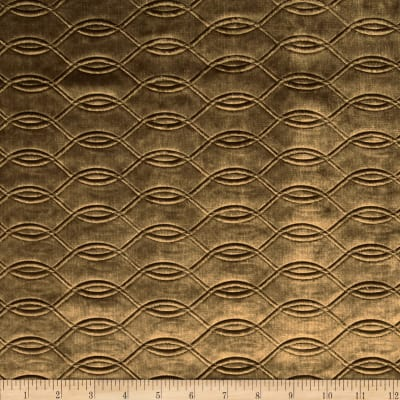 Tempo Embossed Velvet Circles Taupe