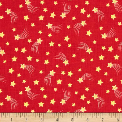 Lewis and Irene A Little Christmas Star Shooting Stars Red