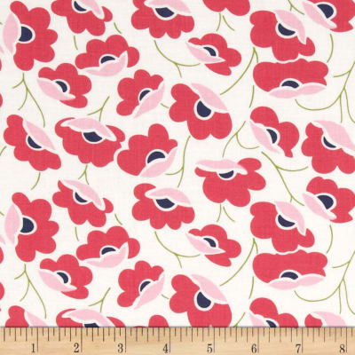 Moda Color Theory Poppies Pink