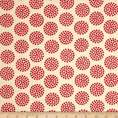 Moda The Sweet Life Prints Dots Cheery Red