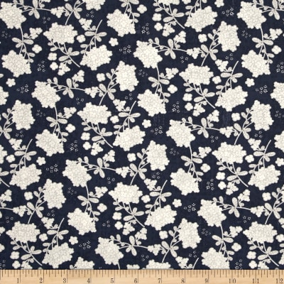 Moda Garden Project Vintage Floral Blueberry