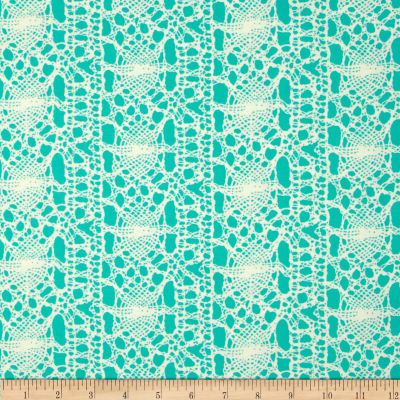 Amy Butler True Colors Stocking Seafoam