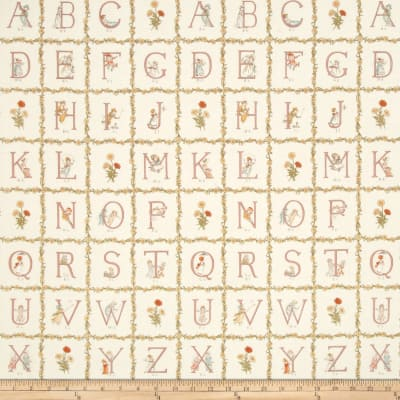 Lecien Kate Greenaway Alphabet Blocks Cream
