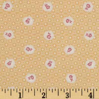 Lecien Kate Greenaway Coordinates Mini Medallion Yellow