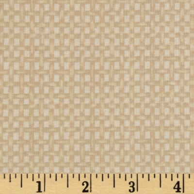 Lecien Kate Greenaway Coordinates Mini Basket Weave Tan