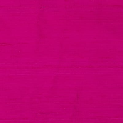 Dupioni Silk Fabric Hot Pink