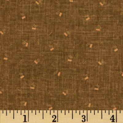 Jeanne Horton The Settlement Collection Geo Shirting Brown