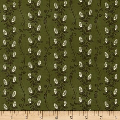 Mary Koval Tree of Life Vine Stripe Green