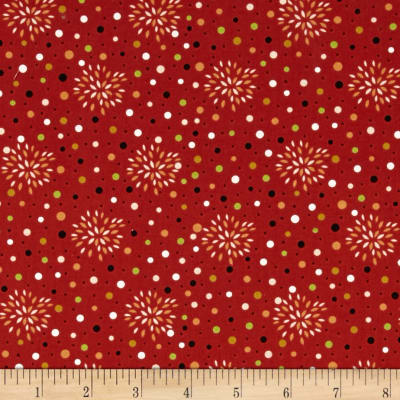 Sly as a Fox Floral Burst Orange/Red
