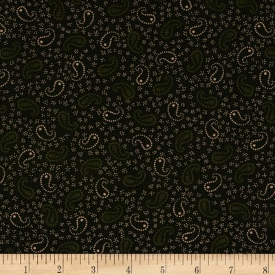 Scrap Happy Paisley Green
