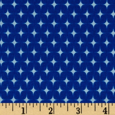 Riley Blake Summer Celebration Summer Stars Blue