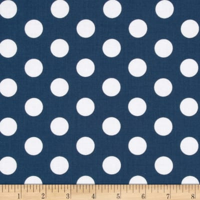 Riley Blake Wiltshire Daisy Dot Blue