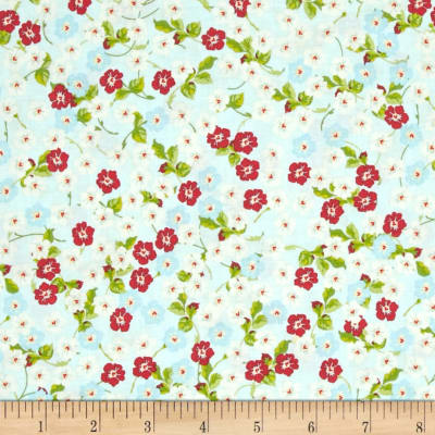 Riley Blake Floribella Floral Blue