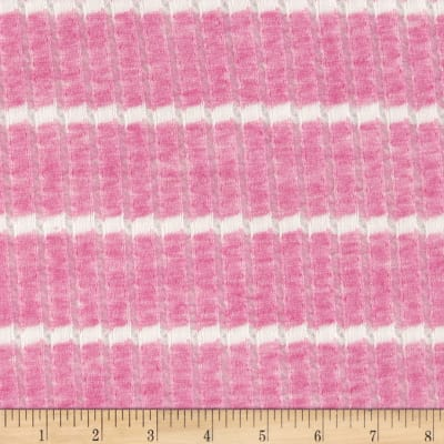 Lacey Sweater Knit Stripe Pink/White