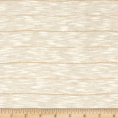 Stretch Tissue Jersey Knit Natural/Gold