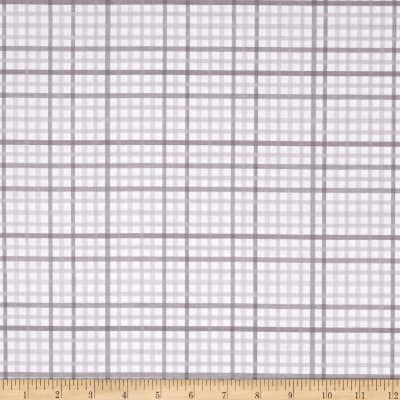 Riley Blake Military Max Plaid Gray
