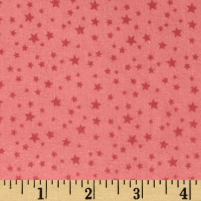 Riley Blake Rodeo Rider Flannel Rodeo Stars Pink