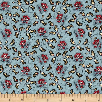Penny Rose Victoria Floral Blue