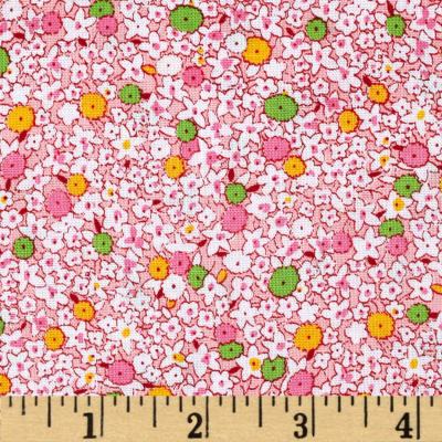 Penny Rose 30's Minis Garden Pink