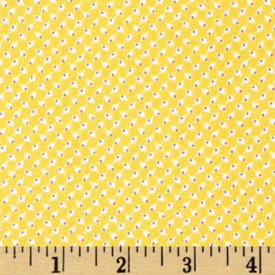 Penny Rose 30's Minis Square Yellow