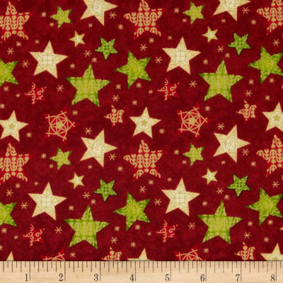Christmas 2015 Stars Red