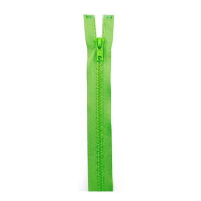 "Sport Separating Zipper 28"" Lime"